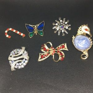 Jewelry - Lot of Estate Sale Pins/Brooches